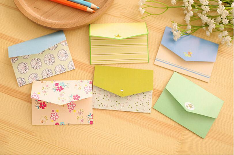 sweet-country-style-creative-little-envelope-design-universal-cards-6pcs